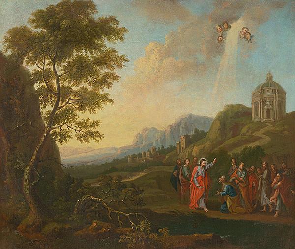Stredoeurópsky maliar – Odovzdávanie kľúčov Petrovi