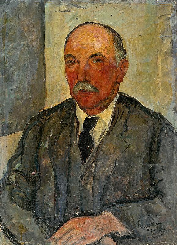 Vilmos Perlrott-Csaba - Portrét maliarovho brata