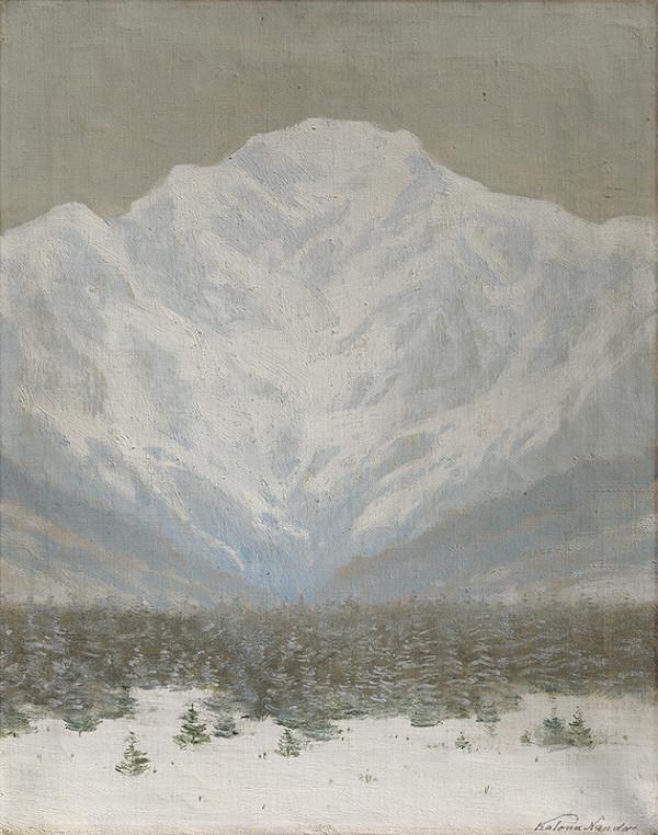 Ferdinand Katona – Zimný deň vo Vysokých Tatrách