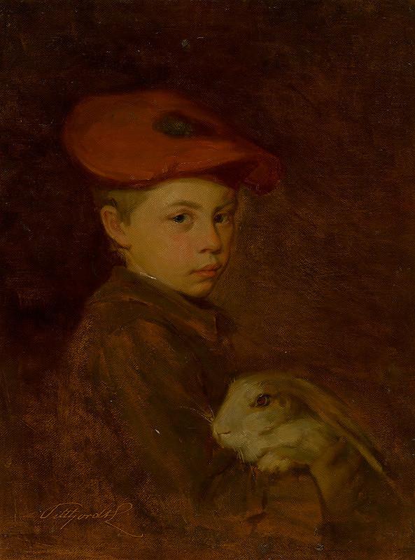 Ľudovít Pitthordt – Chlapec so zajačikom