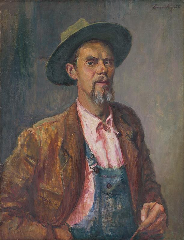 Ladislav Čemický – Autoportrét