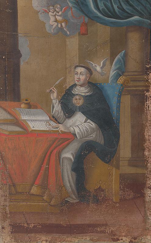 Slovenský maliar zo začiatku 18. storočia, Neznámy maliar – Svätý Tomáš Akvinský