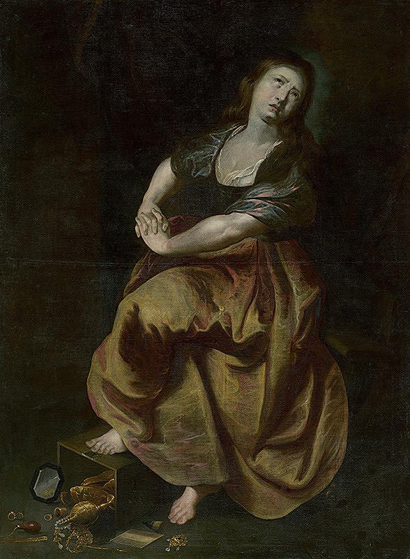 Peter Paul Rubens - Kajúca sa Mária Magdaléna