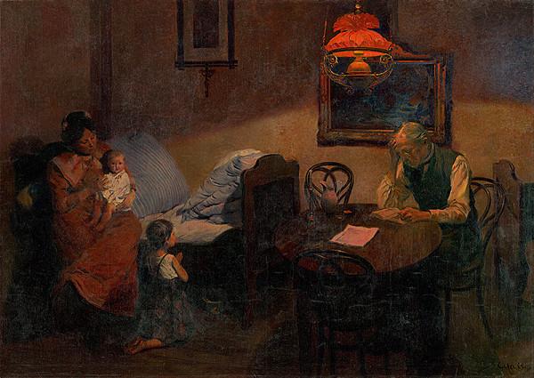 Gustáv Mallý - Večerná modlitba