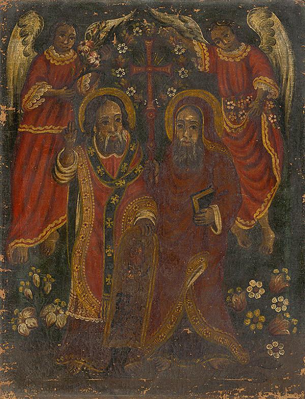 Slovenský maliar z polovice 19. storočia – Slovanskí vierozvestovia Cyril a Metod