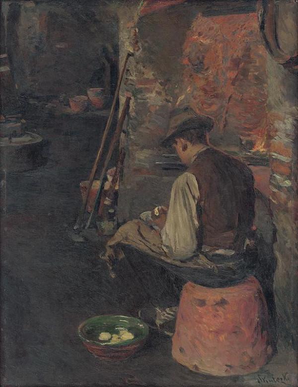 Dominik Skutecký - Pred obedom