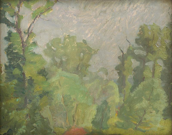 Július Koreszka - Štúdia stromov