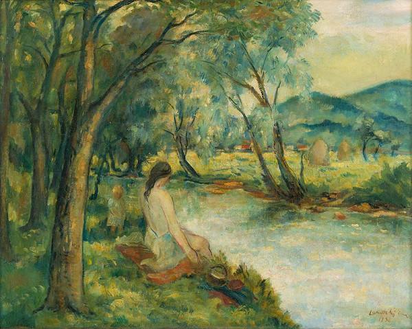 Eugen Lehotský – Krajina pri vode
