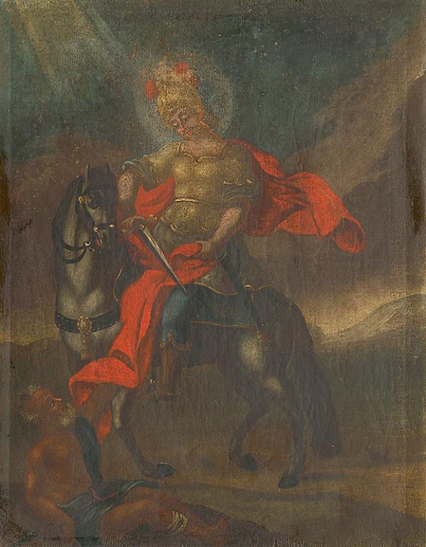 Slovenský ľudový maliar zo začiatku 18. storočia, Neznámy maliar – Svätý Martin