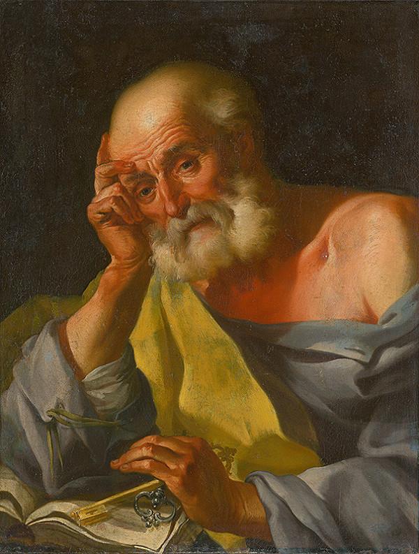 Slovenský maliar z 2. polovice 18. storočia, Neznámy maliar, Johann Lucas Kracker – Svätý Peter
