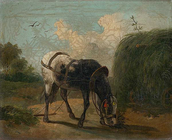 Stredoeurópsky maliar z 19. storočia - Kôň I.
