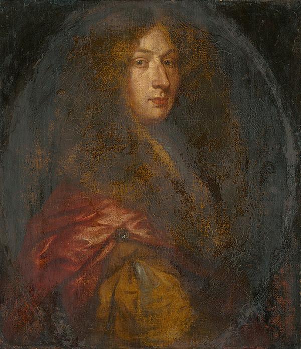 Francúzsky maliar zo začiatku 18. storočia - Portrét šľachtica