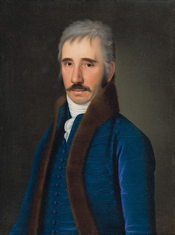 Jozef Czauczik – Portrét pána Alberta Gundelfingena