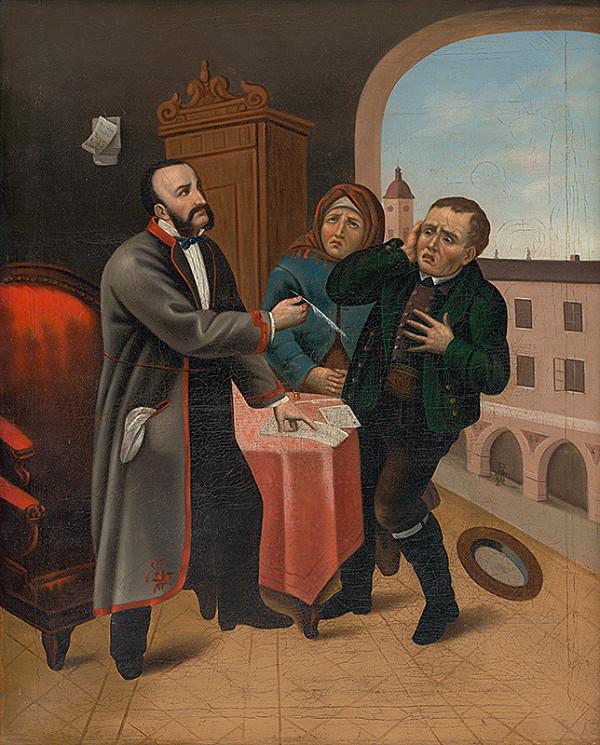 Slovenský maliar z 19. storočia, Jozef Božetech Klemens – Úžerník