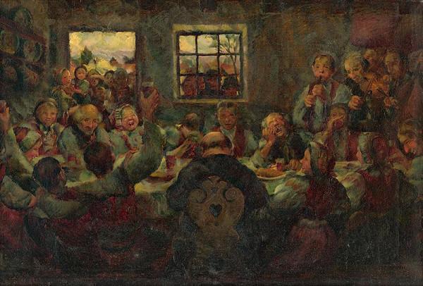 Gustáv Mallý - Svadobná hostina