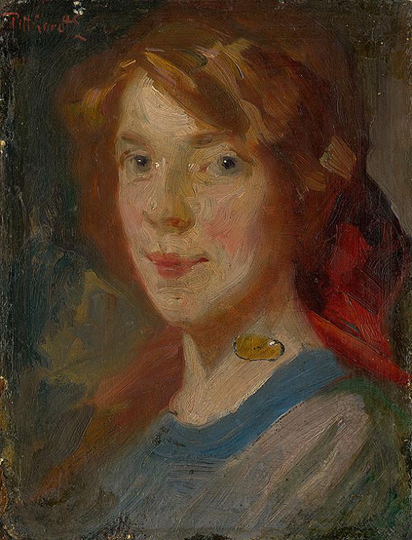 Ľudovít Pitthordt - Portrét dcéry Irmy