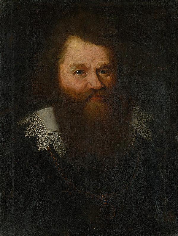 Flámsky maliar zo začiatku 17. storočia – Podobizeň staršieho muža s bradou