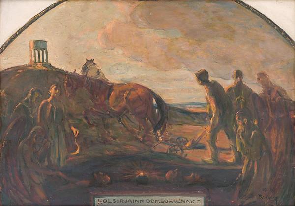 Július Rudnay - Kde sa naše hroby vypínajú