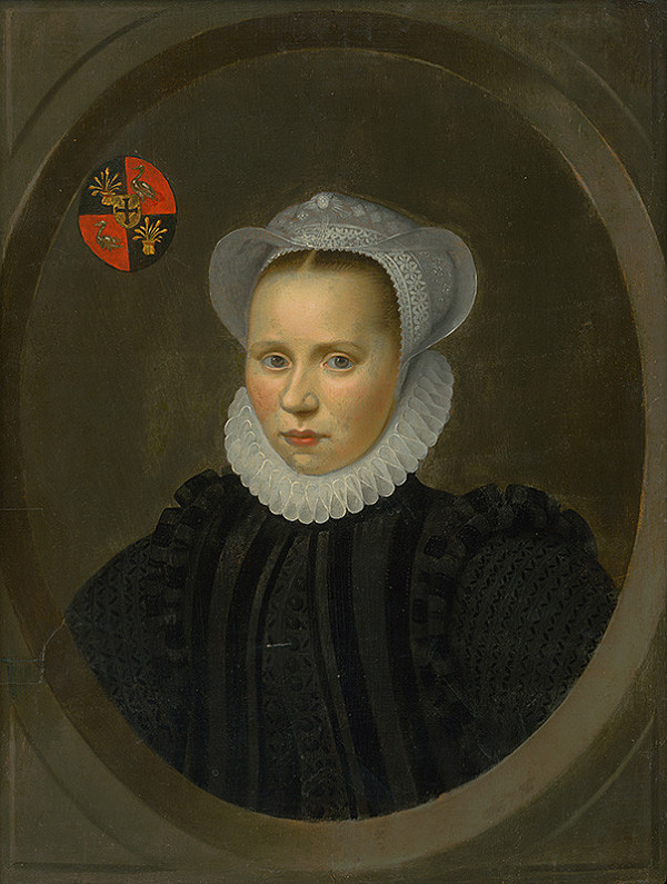 Nemecký maliar, Holandský maliar z 1. polovice 17. storočia – Podobizeň dievčaťa v čepci