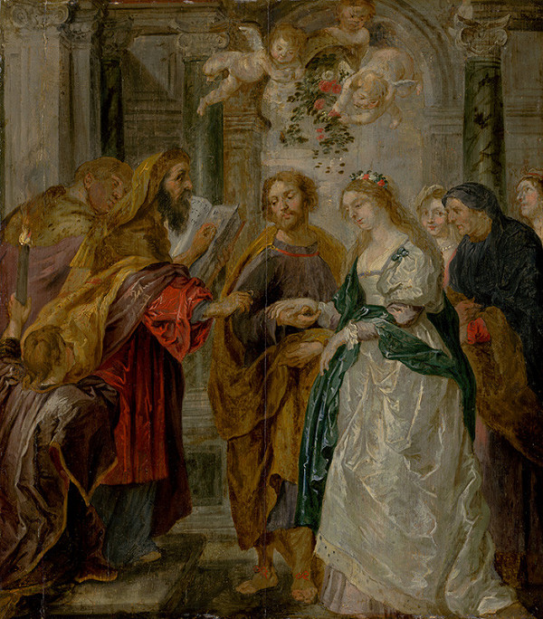 Peter Paul Rubens - Zasnúbenie Panny Márie