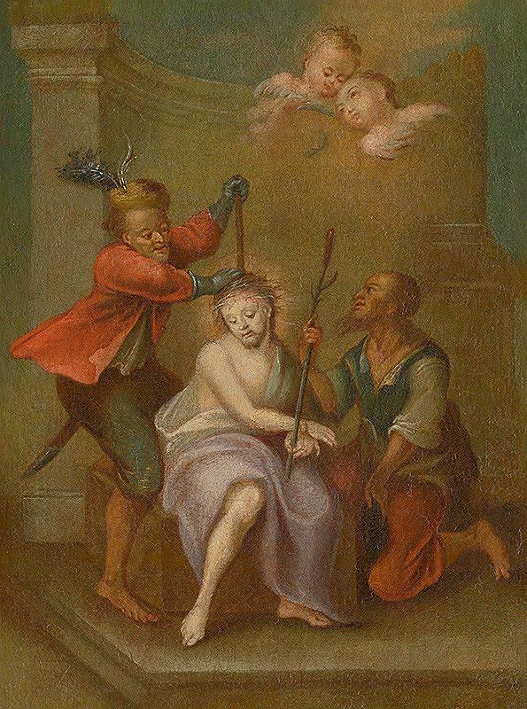 Stredoeurópsky maliar z 2. polovice 18. storočia - Korunovanie tŕním