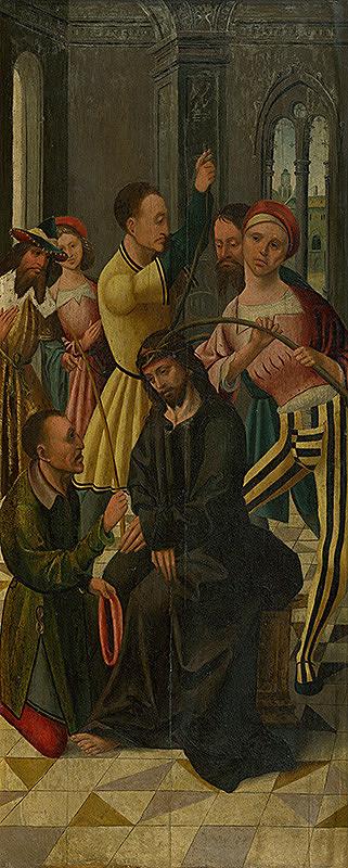 Porýnsky maliar z 1. štvrtiny 16. storočia - Korunovanie tŕnim