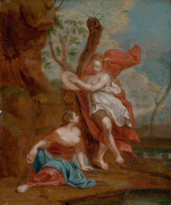 Nicolas Vleughels, Holandský maliar – Thália a Terpsichoré