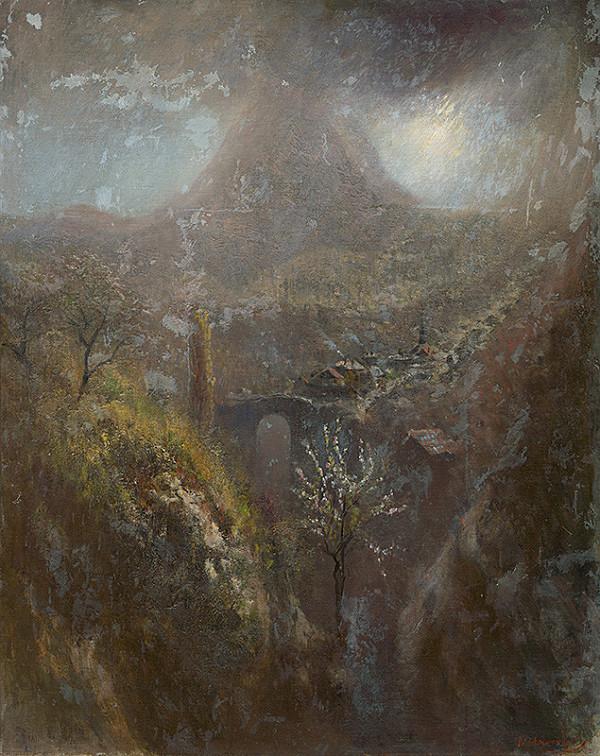 Ladislav Mednyánszky - Talianska horská krajina