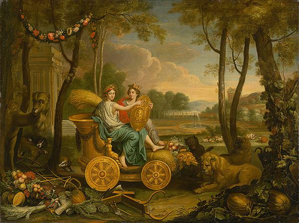 Charles Le Brun, Francúzsky maliar z 2. polovice 17. storočia – Apoteóza Ľudovíta XIV.