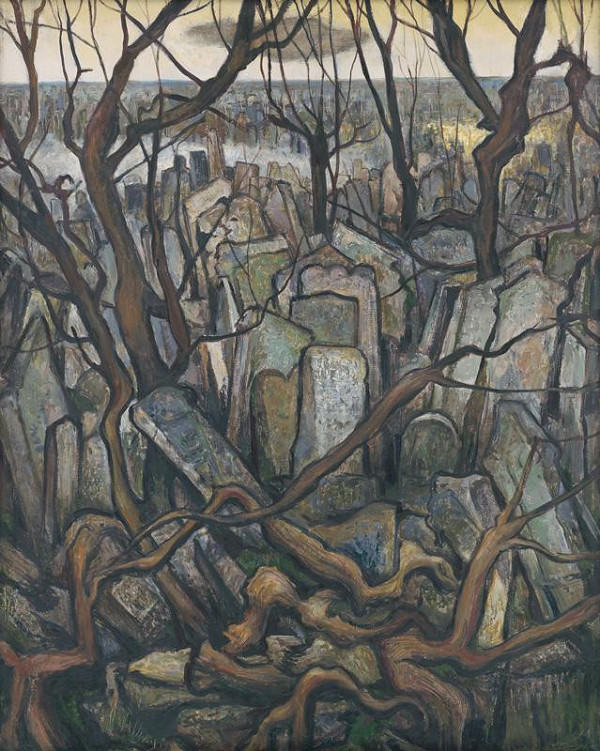 Imrich Weiner-Kráľ – Židovský cintorín v Prahe