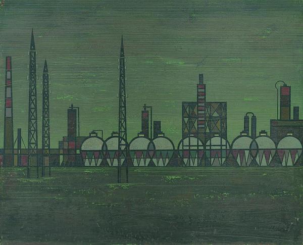 Július Barta - Plynové zásobníky