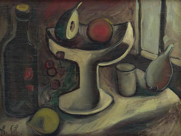 František Studený – Zátišie s ovocím