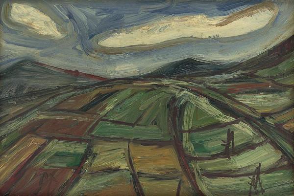 František Studený – Políčka s bielymi mrakmi