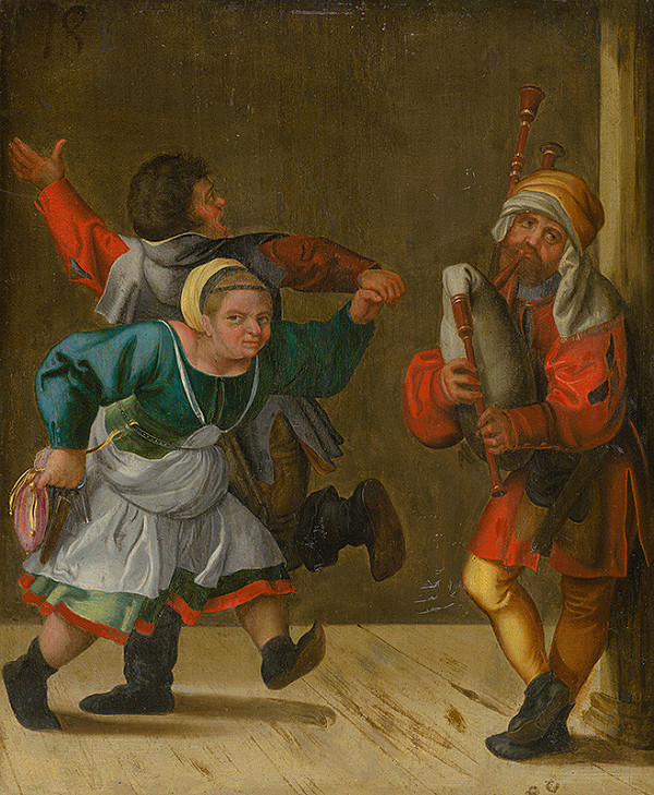 Autor kópie neznámy, Albrecht Dürer – Sedliacky tanec
