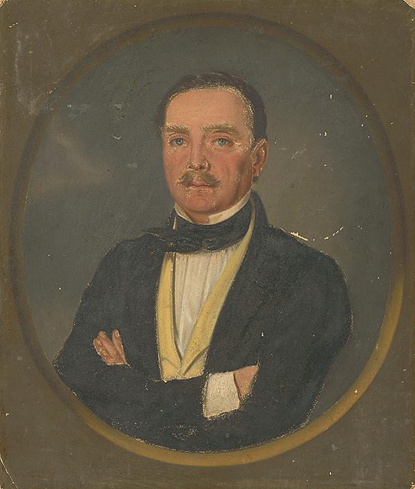 Anton Springer st. - Portrét muža z r.1863