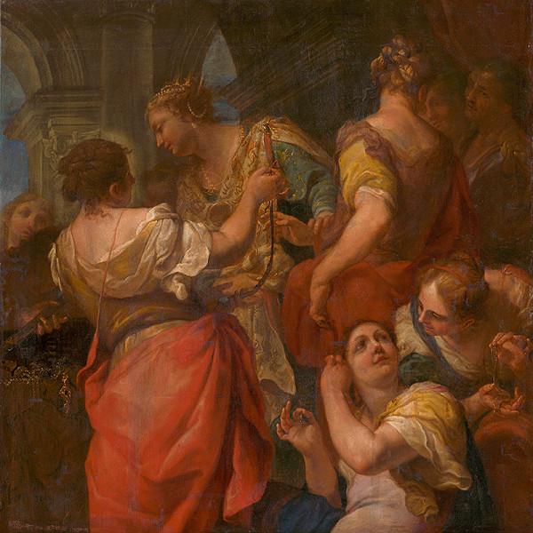 Antonio Molinari, F. Gerardi, Autor kópie neznámy – Achilleus medzi dcérami kráľa Lykoméda
