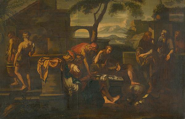Taliansky maliar zo 17. storočia - Biblický motív