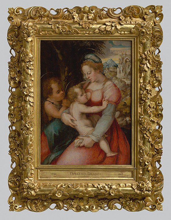 Pier Francesco Foschi, Talianský manierista zo 16. storočia – Madona s Ježiškom a malým Jánom