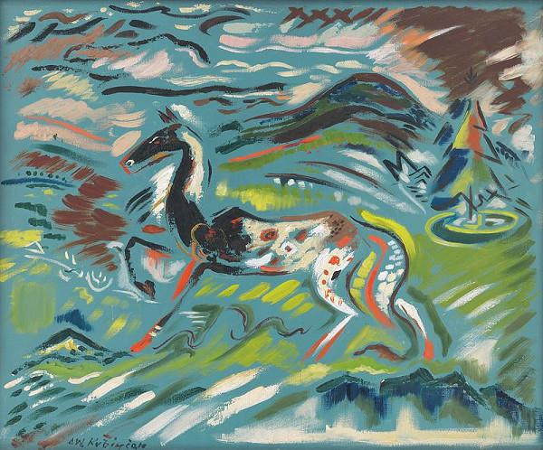 Arnold Peter Weisz-Kubínčan - Kôň