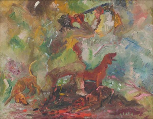 Arnold Peter Weisz-Kubínčan - Poľovník