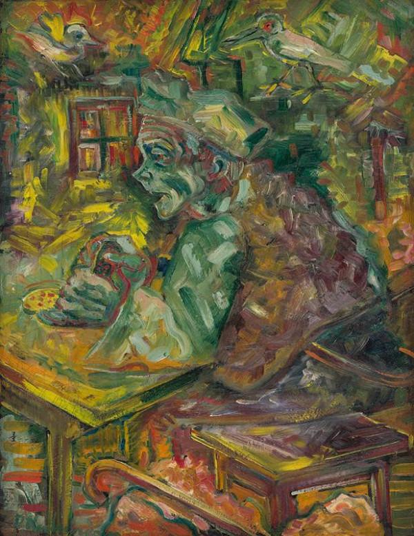 Arnold Peter Weisz-Kubínčan - Za stolom
