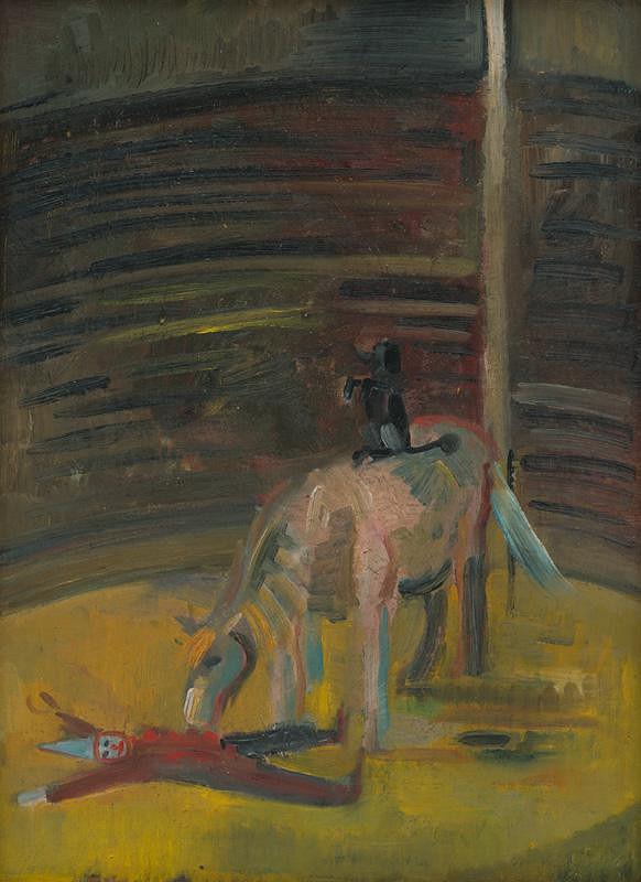 Arnold Peter Weisz-Kubínčan – Motív z cirkusu
