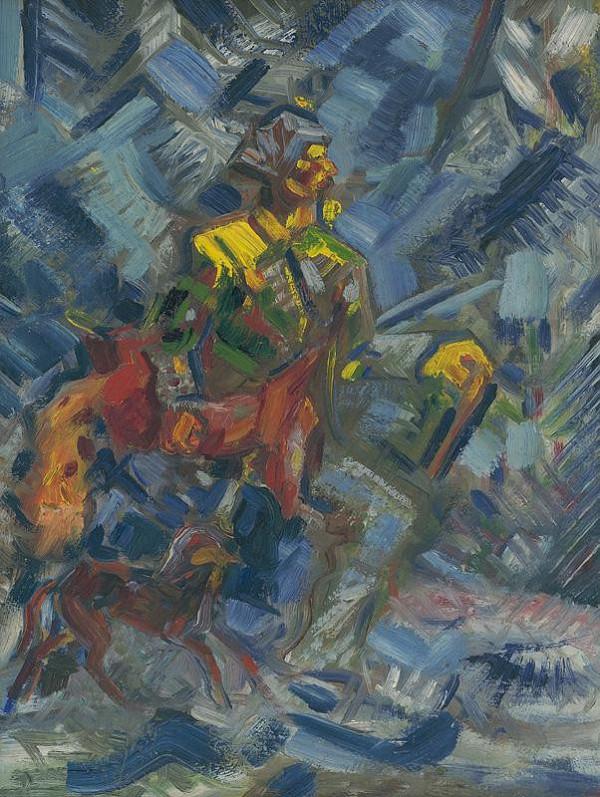 Arnold Peter Weisz-Kubínčan – Poľovník v modrom lese