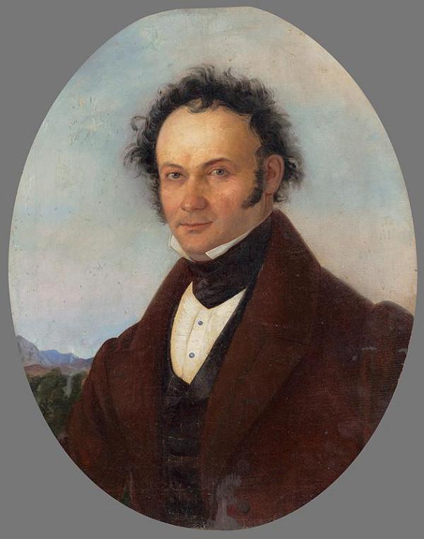 Slovenský majster z 1. polovice 19. storočia – Podobizeň muža