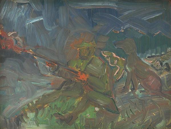 Arnold Peter Weisz-Kubínčan – Výstrel