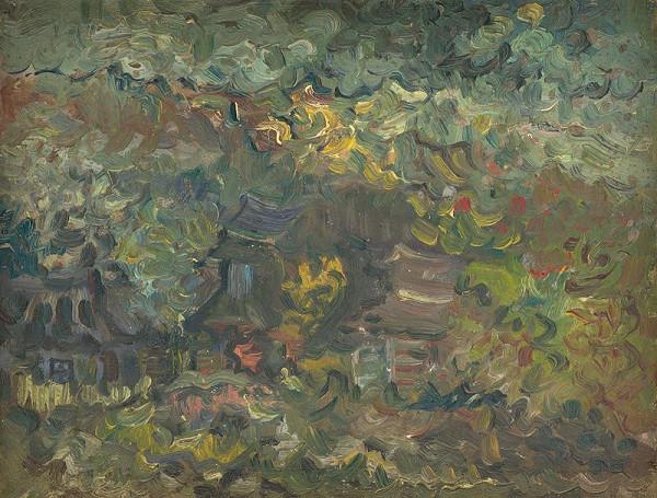 Arnold Peter Weisz-Kubínčan – Domky pod lesom