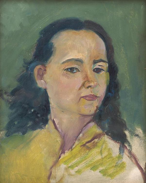 Arnold Peter Weisz-Kubínčan - Portrét ženy