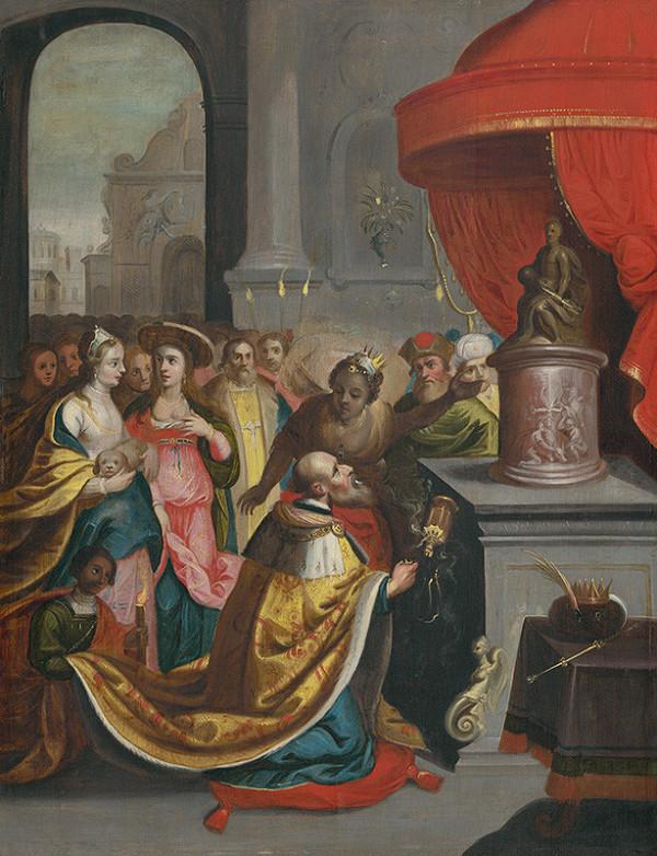 Nemecký maliar z 1. tretiny 17. storočia, Frans Francken II. – Šalamúnova modloslužba