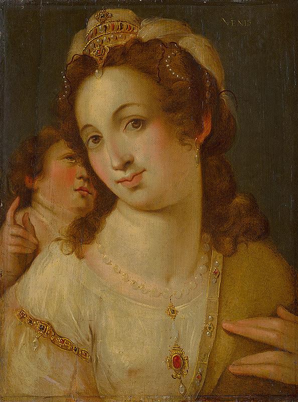 Florentský maliar z polovice 16. storočia – Venuša
