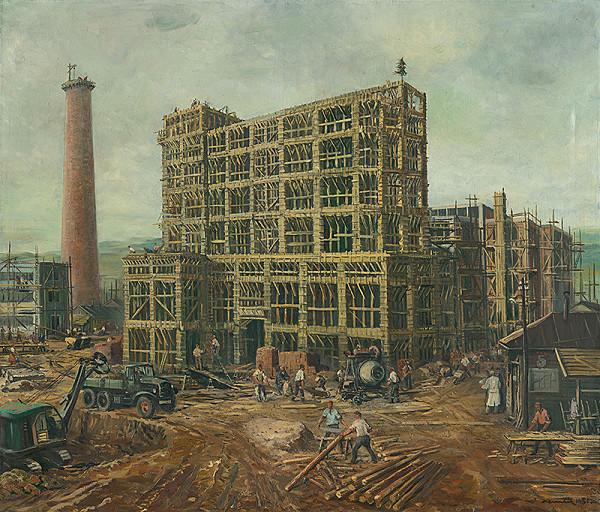 Július Nemčík - Industrializácia nášho kraja